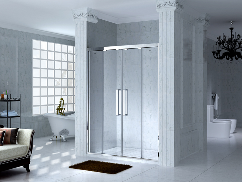 remove hard water stains from glass shower enclosure How to Get Calcium Off of Shower Doors